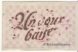 CPA - Un Doux Baiser D'ERQUELINNES - Erquelinnes
