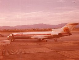 Passagierflugzeug IBERIA - Luftfahrt