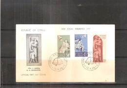 FDC Chypre - New Social Insurance Law - 1965 - Complete Set - Chypre (République)