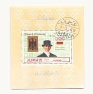 Arabie Ajman 1969 BF Munich - Timbres
