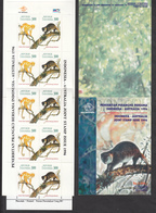 Indonesia, 1996, Animal, One Booklet For Joint Stamp Issue Of Indonesia And Australia, MNH - Indonésie