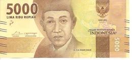 Indonesia  New      5000 Rupiah  2016 UNC - Indonésie