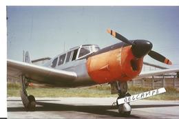 PHOTO AVION NORD 1101 NORALPHA QUADRPLACE  JUIN 1974  MONTAUBAN  13X9CM - 1946-....: Era Moderna
