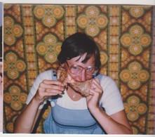 26893 Huit Photos CONCARNEAU Bretagne France -touriste Plage DS - été 1978 Belgique Restaurant Bouffe - Lieux