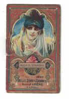 CALENDARIETTO BELLET SENES 1923  ROSA DI STAMBUL - Calendari