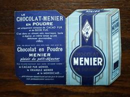 L18/125 Petit Calendrier Publicitaire Chocolat Menier. 1953 - Small : 1941-60
