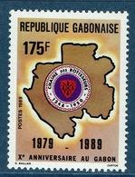 "Gabon, ""Chaîne Des Rotisseurs"", 1989,  MNH VF - Gabon"