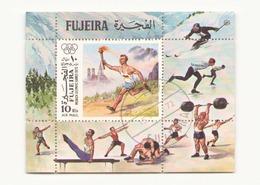 Arabie, Fujeira, Bloc Jeux Olympiques - Timbres