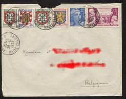 Pays : 189,06 (France : 4e République)  Yvert Et Tellier N° :  812 ; 897 ; 900 ; 902 ; 903 - France