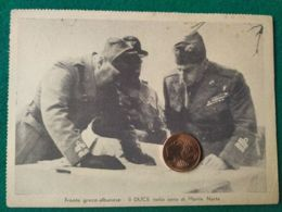 FASCISMO  Fronte Greco Albanese Il Duce Nella Zona Do Monte Narta - Guerra 1939-45