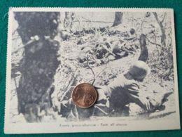 FASCISMO  Fronte Greco Albanese Fanti All'attacco - Oorlog 1939-45