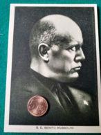 FASCISMO Mussolini Ritratto - Oorlog 1939-45