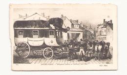 ANCIEN PARIS DILIGENCE LAFFITTE ET CAILLARD VERS 1825 - Cartes Postales