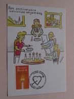 Bon Anniversaire - Gelukkige Verjaardag ( Bubbs ) 1999 ( Zie / Voir Photo ) ! - Maximumkarten (MC)