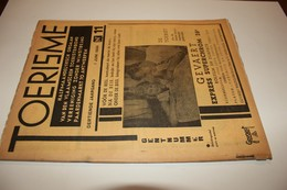 #20851 [Boek - Tijdschrift] Toerisme, Dertiende Jaargang, 1 Juni 1934, Nr 11 Gent Haven Gravensteen Commissionnaire - Tourisme