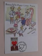 Bonne Fête Papa - Leve Papa ( Bubbs ) 1999 ( Zie / Voir Photo ) ! - Maximumkarten (MC)