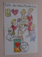 Fête Des Mères - Moederdag ( Bubbs ) 1999 ( Zie / Voir Photo ) ! - Maximumkarten (MC)