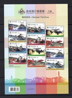 China Hong Kong 2019 Government Flying Service — Operation Stamp Sheetlet MNH - 1997-... Région Administrative Chinoise