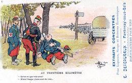 CP D'après Guillaume, Militaria, Maison Descouraux, Fontenay-sous-Bois - Guillaume