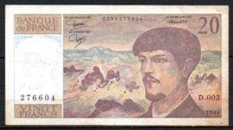 615-France Billet De 20 Francs 1980 D003 - 1962-1997 ''Francs''