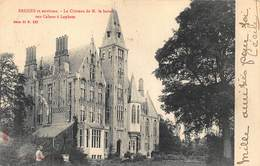 Brugge    Les Environs De Bruges   Loppem  Lophem   Le Château De M. Le Baron Van Caloen à Lophem   Kasteel    X 5925 - Brugge
