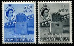 1956 Seychelles (2) - Seychelles (...-1976)