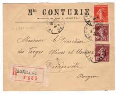 AURILLAC  Min CONURIE Marchand De Fer  Pour Decazeville 1926 - 1921-1960: Période Moderne