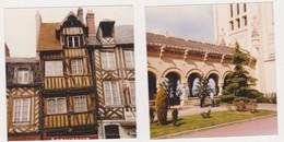 26899 Deux Photos LISIEUX France -touriste 1978 Belgique - Lieux