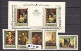 1983 Art Paintings German Artists Hermitage 5v.+S/S- MNH USSR - Arte
