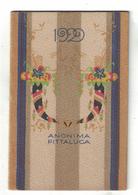 CALENDARIETTO  ANONIMA PITTALUCA  1929 - Calendari