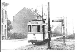 Wommelgem - Tram - Lijn 45 Antwerpen-Wommelgem. - Ohne Zuordnung