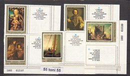1983 Art Paintings German Artists Hermitage 5v.+vignette- MNH (Zf.) USSR - Arte
