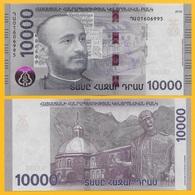 Armenia 10000 (10,000) Dram P-new 2018 UNC Banknote - Armenien