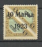 FAUX ESTLAND ESTONIA 1923 Michel 43 A Ganzfälschung Fake * - Estland