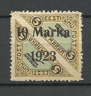 FAUX ESTLAND ESTONIA 1923 Michel 43 A Ganzfälschung Fake * - Estonia