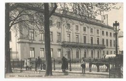Arlon Palais Du Gouvernement Carte Postale Ancienne Animée - Arlon