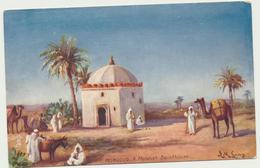 61-16 Morocco A Moorish Sainthouse Tuck`s Oilette - Morocco