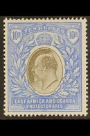 1903 10r Grey And Ultramarine, Wmk CA, Ed VII, SG 14, Very Fine Mint. For More Images, Please Visit Http://www.sandafayr - Publishers