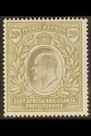 1903 20r Grey And Stone, Wmk CA, Ed VII, SG 15, Fine Mint, Glazed Gum. Scarce Stamp. For More Images, Please Visit Http: - Publishers