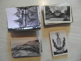 LOT DE + 400 PETITES CARTES POSTALES (ENVIRON 330 FRANCE / 80 ETRANGERES / 20 LOURDES) - VOIR SCANS & DESCRIPTION - Postcards