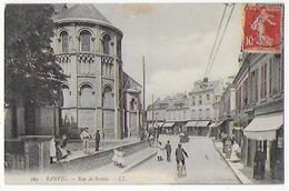Cpa Bon Etat ,sanvic , Rue De Sanvic , Timbre Courrier Au Verso - France