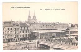 Bayonne (64 - Pyrénées-Atlantiques ) Le Quai Des Halles - Bayonne
