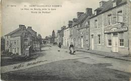 SAINT SAUVEUR LE VICOMTE - Le Haut Du Bourg, Près De La Gare, Route De Portbail. - Saint Sauveur Le Vicomte