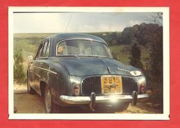 Photo  1972  (12,5 X8,5 ) Ondine Vue De L'Arrière - Passenger Cars
