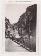 26903 Cinq Photos Gorges De Cians + Cascade Chute Courbe France - Sans Doute Années 1950 - Lieux
