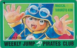 TC Japon / 110-011 - MANGA - WEEKLY JUMP PIRATES CLUB - MAGICAL TARURU - ANIME Japan Phonecard -10978 - BD