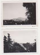 26904 Deux Photos Route Des Alpes Grace France - Sans Doute Années 1950 - Lieux
