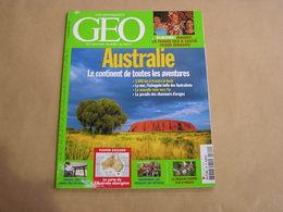 GEO Magazine N° 348 Géographie Voyage Monde Australie Arborigène Burundi Indonésie Région Centre Japon Colombie - Tourisme & Régions
