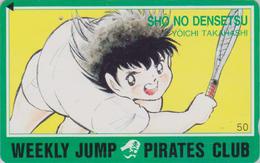 TC Japon / 110-011 - MANGA - WEEKLY JUMP PIRATES CLUB - SHO NO DENSETSU ** TENNIS ** - ANIME Japan Phonecard -10979 - Comics
