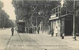 RUEIL - L'avenue De Paris à La Station De La Malmaison, Tramway. - Tramways